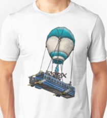 Fortnite Bus Drawing, Colored version Unisex T-Shirt