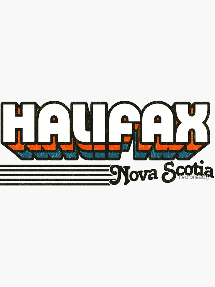 Halifax, Nova Scotia | Retro Stripes by retroready