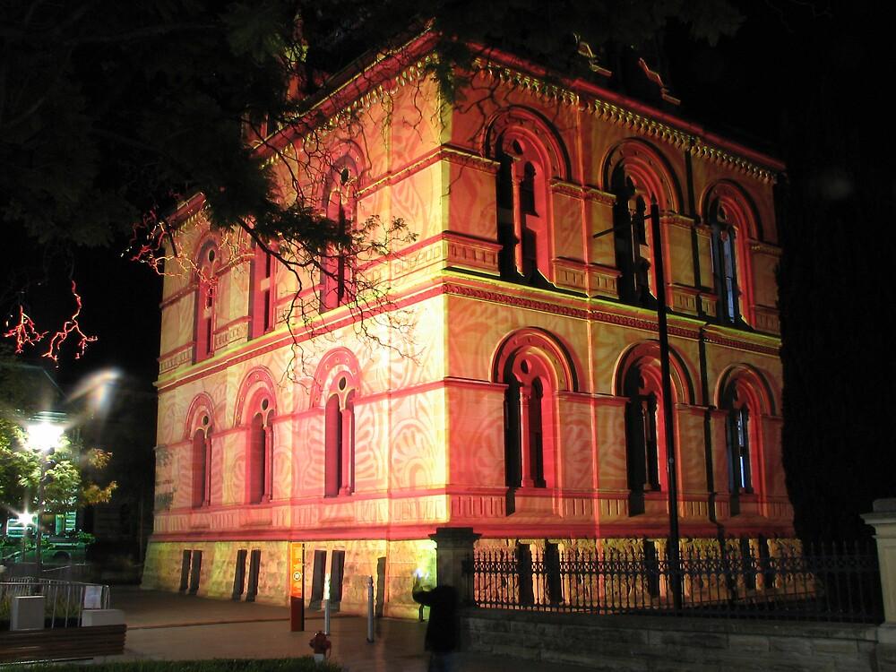 Adelaide Museum Northen Lights by DaveLambert