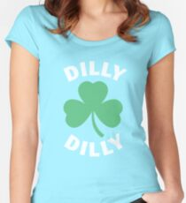 Dilly Dilly Saint Patricks Day Women's Fitted Scoop T-Shirt
