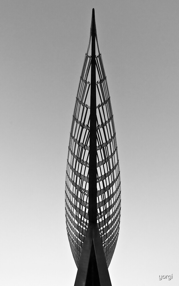 """Docklands Sculpture"" by yorgi"