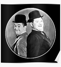 LAUREL AND HARDY, Stan Laurel and Oliver Hardy in their 1939 feature film called The Flying Deuces Poster