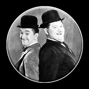 LAUREL AND HARDY, Stan Laurel and Oliver Hardy in their 1939 feature film called The Flying Deuces by TOMSREDBUBBLE