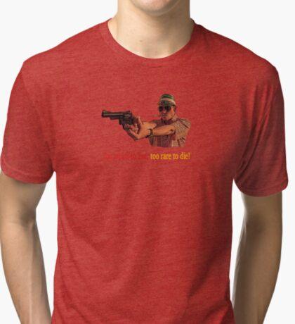 Miedo y asco en Las Vegas - ¡Demasiado raro para vivir, demasiado raro para morir! Camiseta de tejido mixto