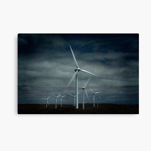 Wind Generation Canvas Print