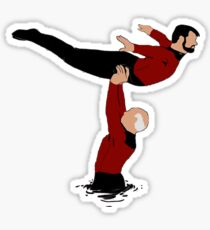 riker and picard Sticker