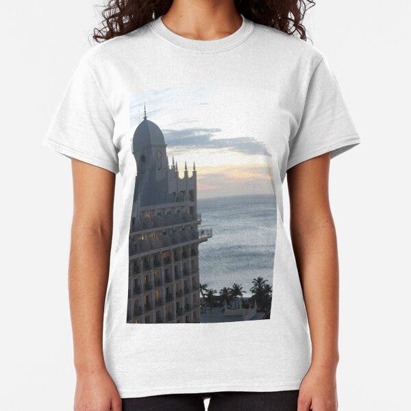 Aruba, resort, spa, health resort, 2017, Hotel, Water, Sky, 12 Classic T-Shirt