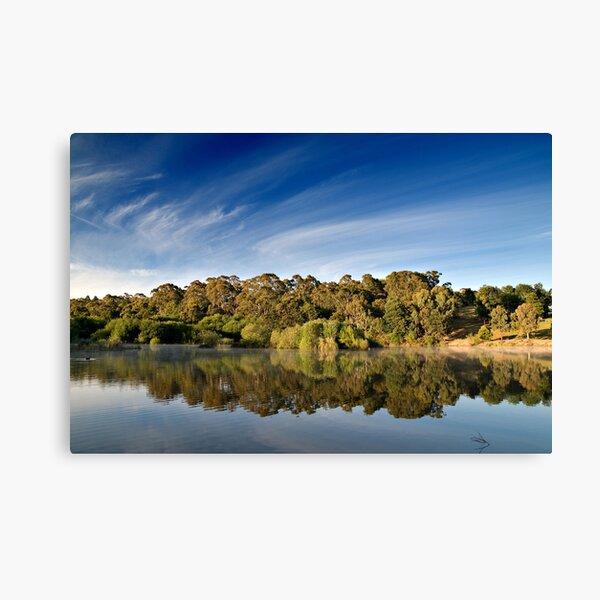 Sunrise Lake Daylesford Canvas Print