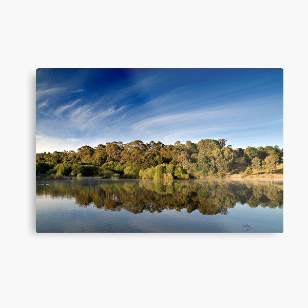 Sunrise Lake Daylesford Metal Print