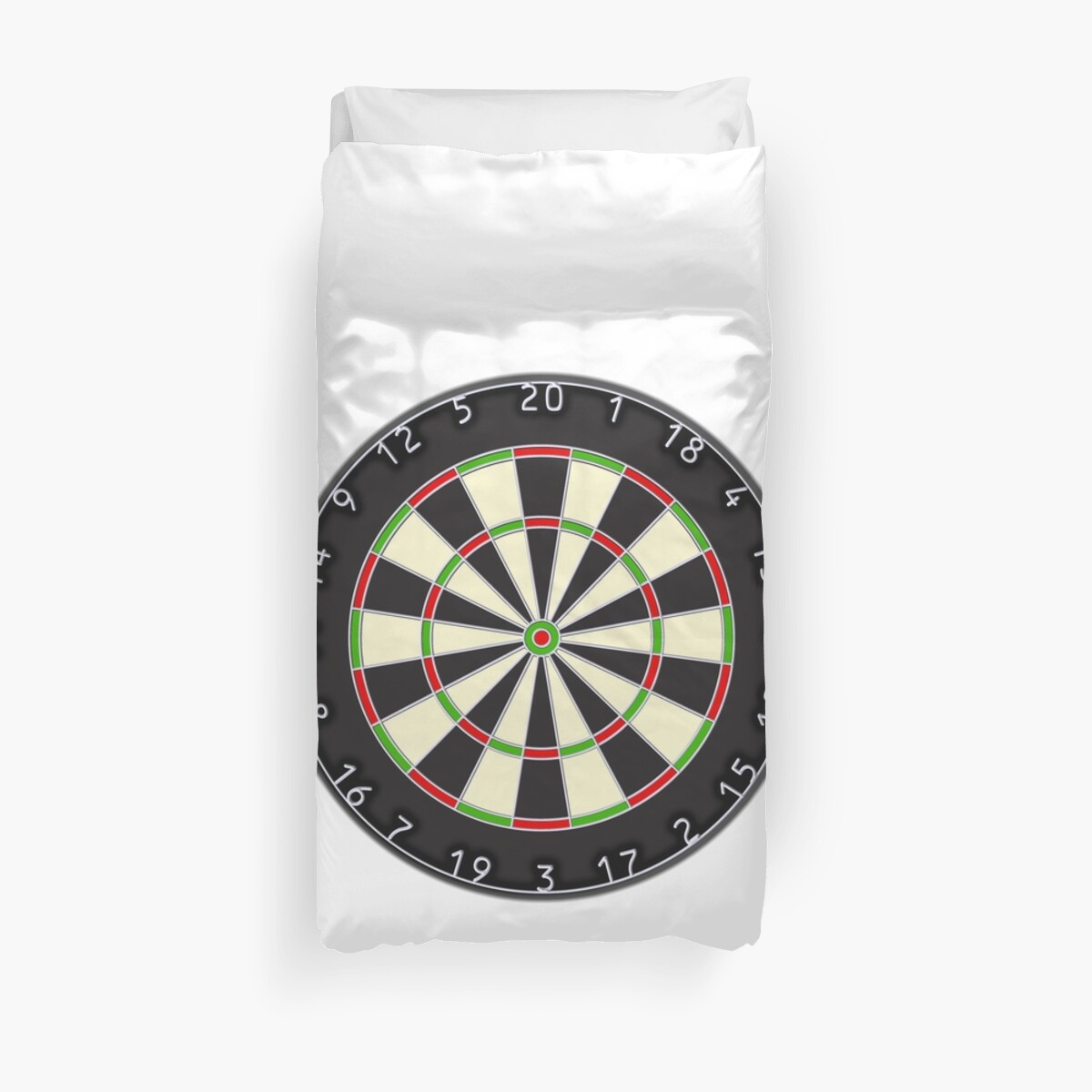 Dart Board Darts Arrows Target Bulls Eye Pub Game On White