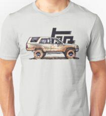 1st Gen 4Runner TRD - Tan Slim Fit T-Shirt