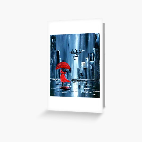 In the City... Greeting Card