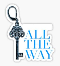 Fifty shades pleasure me all the way Sticker
