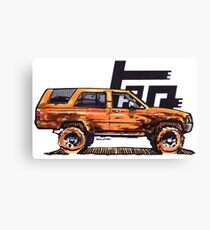 1st Gen 4Runner TRD - Orange Canvas Print