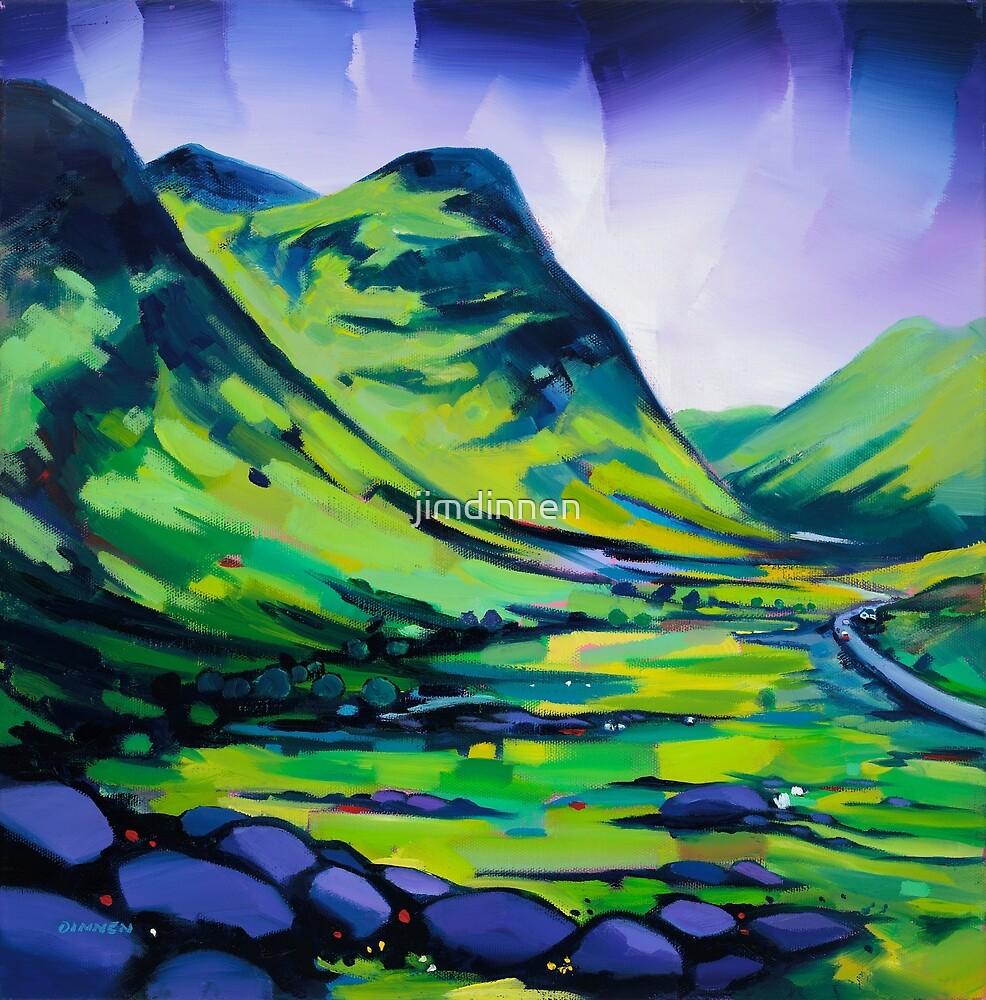 Glencoe , Scotland by jimdinnen