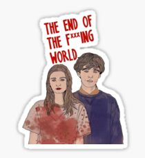 The End Of The Fucking World Netflix Sticker