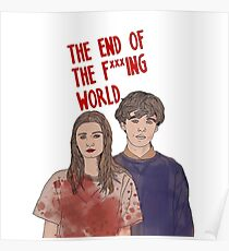 The End Of The Fucking World Netflix Poster