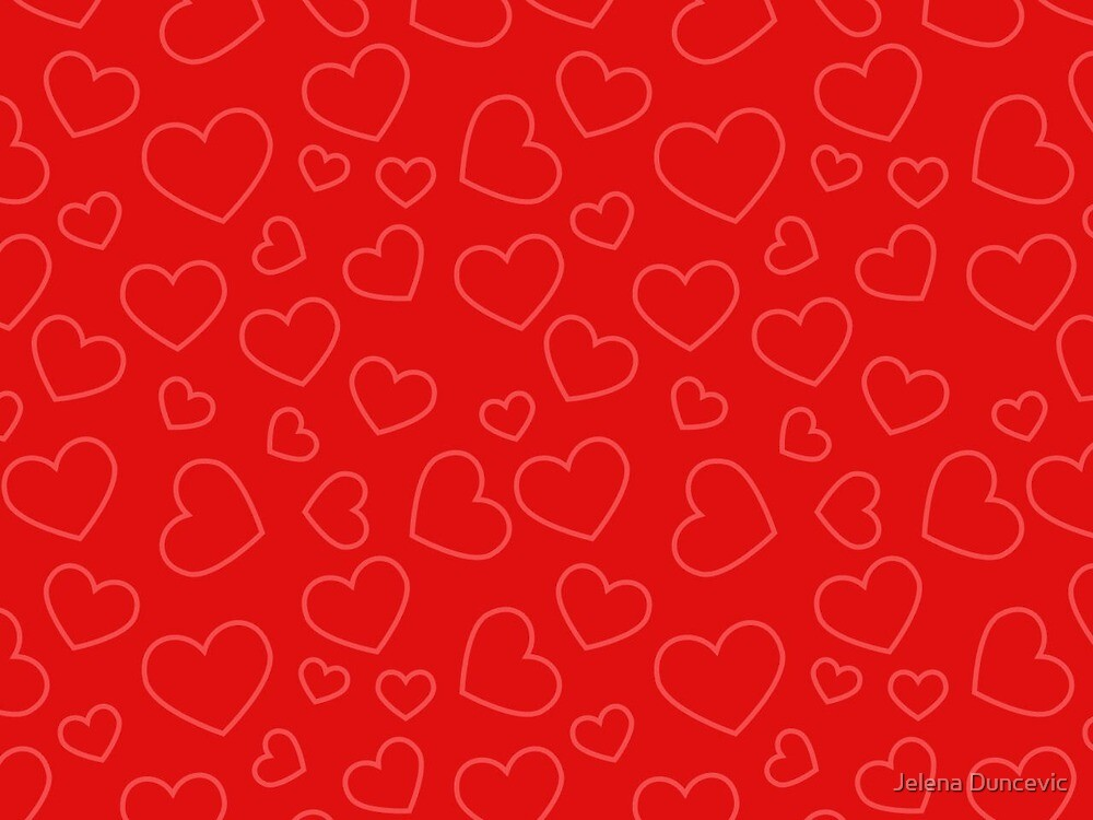 Love, Romance, Hearts - Red  by sitnica