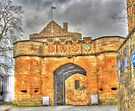 Linlithgow Palace entrance HDR ( Wentworth Prison in Outlander) by David Rankin
