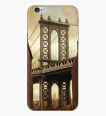 Vinilo o funda para iPhone El puente de Manhattan