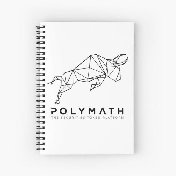 Polymath Network Logo Dark Spiral Notebook