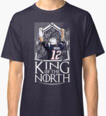 Tom Brady King Of The North New England Patriots Football Shirt Classic T-Shirt