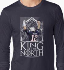 Tom Brady King Of The North New England Patriots Football Shirt Long Sleeve T-Shirt