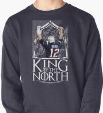 Tom Brady King Of The North New England Patriots Football Shirt Pullover