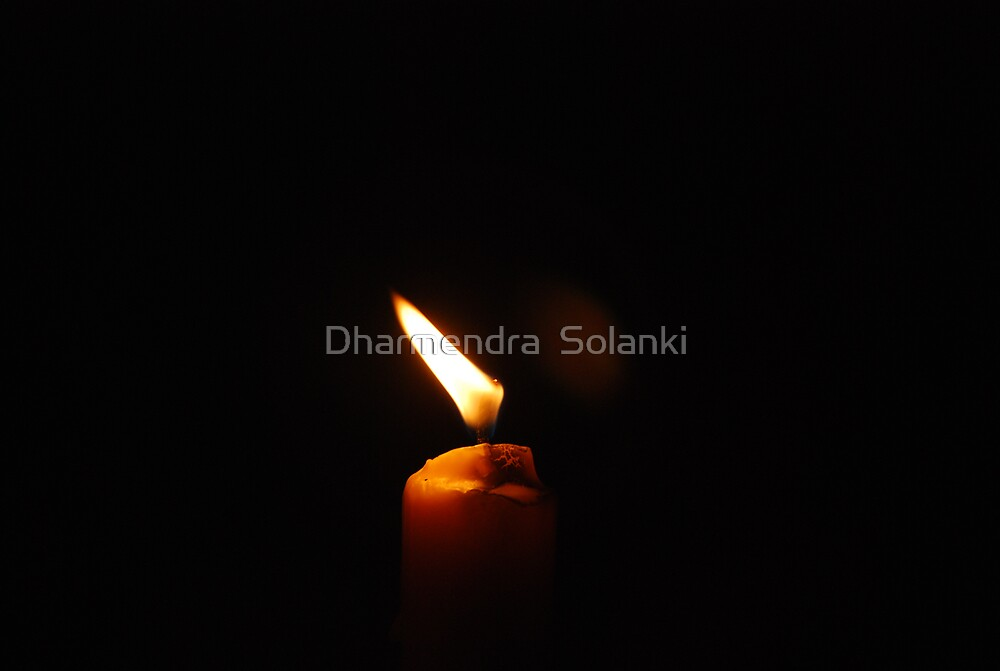 Candel light by Dharmendra  Solanki