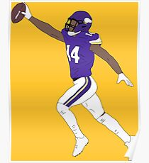 Stefon Diggs Game Winner Poster