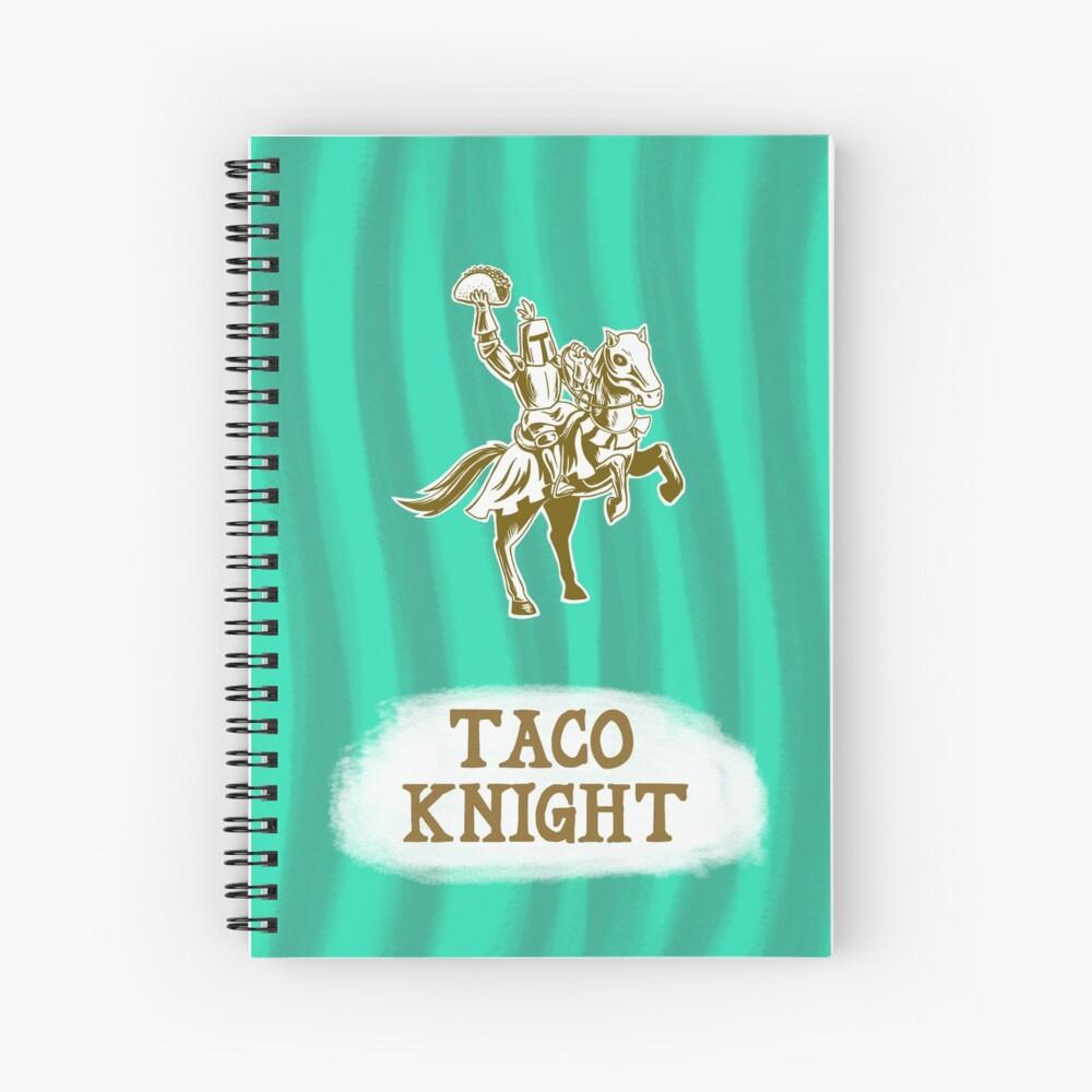 Taco Knight Spiral Notebook