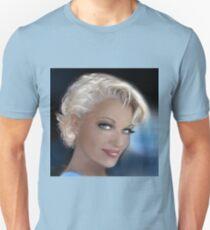 Blue Eyes Blond 2 Unisex T-Shirt
