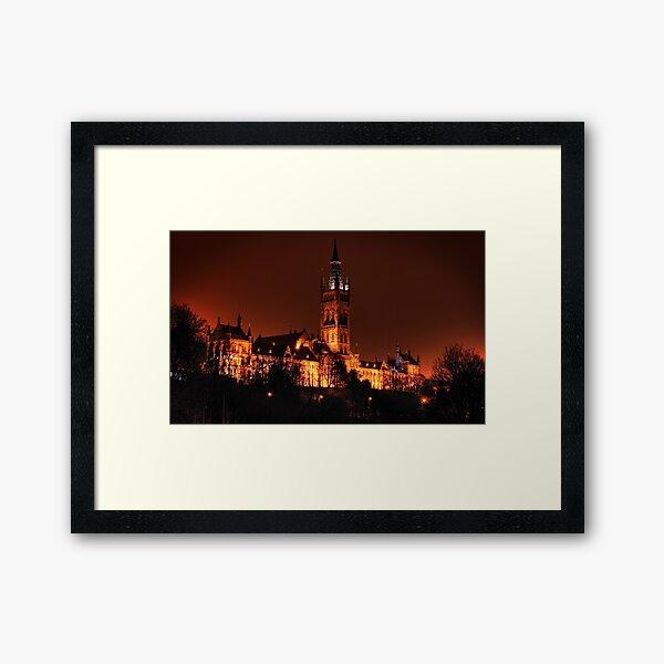 Glasgow University Framed Art Print