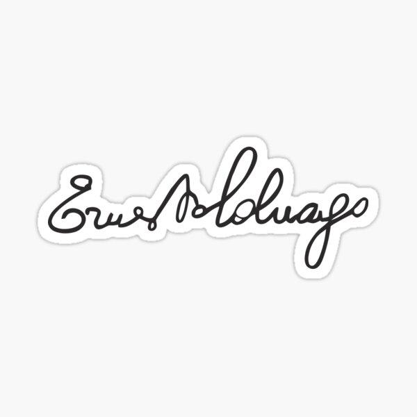 Ernesto Colnago Sticker
