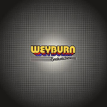 Weyburn, Saskatchewan | Retro Stripes by retroready