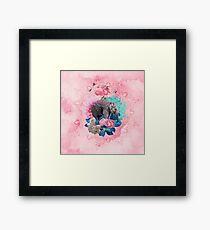 Floral Elephant Framed Print