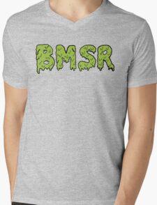 Black Moth Mens V-Neck T-Shirt