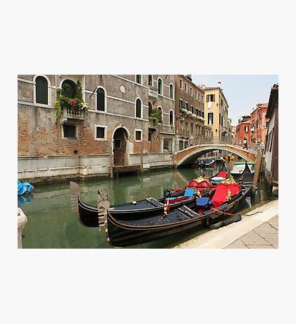 Gondolas 2 Photographic Print