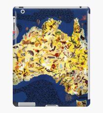Australian Australia Outback Fauna Flora iPad Case/Skin