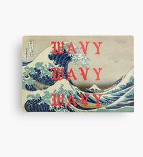 Lienzo metálico WAVY WAVY WAVY / KANYE