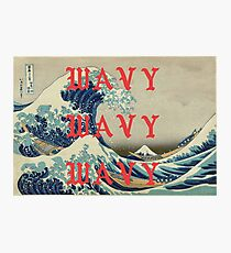 WAVY WAVY WAVY / KANYE  Photographic Print