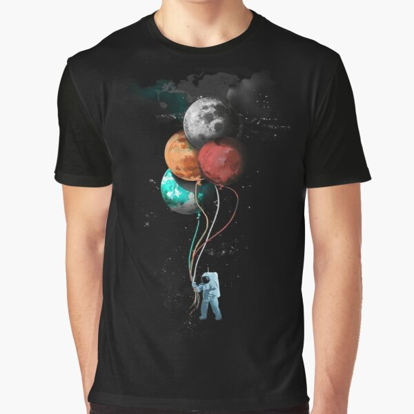 The Spaceman's Trip Graphic T-Shirt