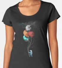 The Spaceman's Trip Frauen Premium T-Shirts