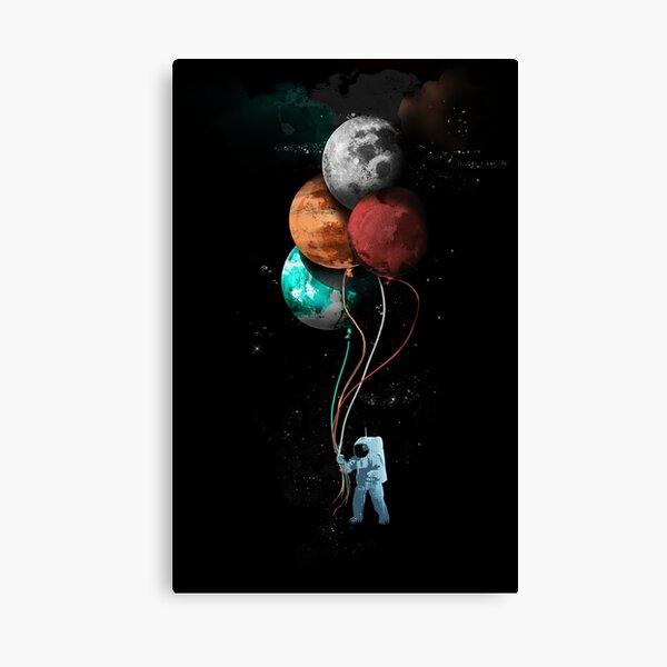 The Spaceman's Trip Canvas Print