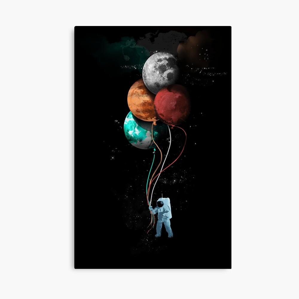 The Spaceman's Trip Leinwanddruck