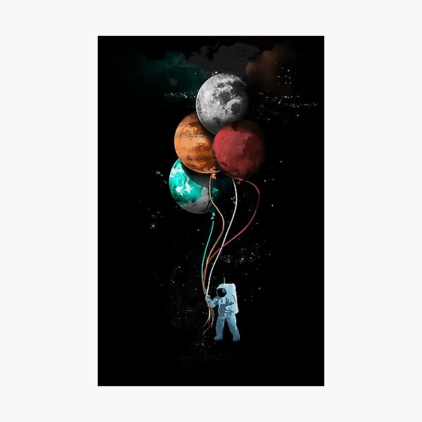 The Spaceman's Trip Photographic Print
