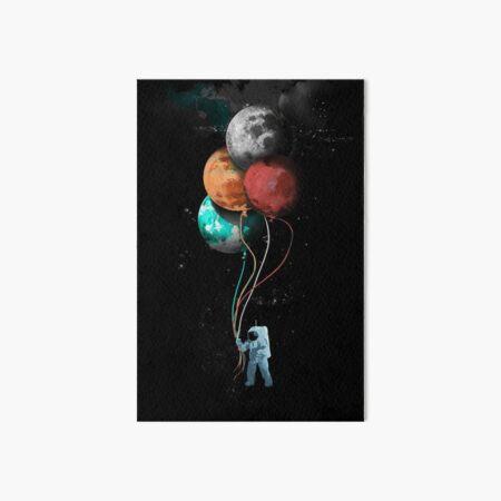 The Spaceman's Trip Art Board Print