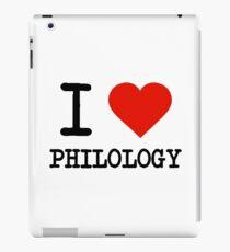 I Love Philology iPad Case/Skin