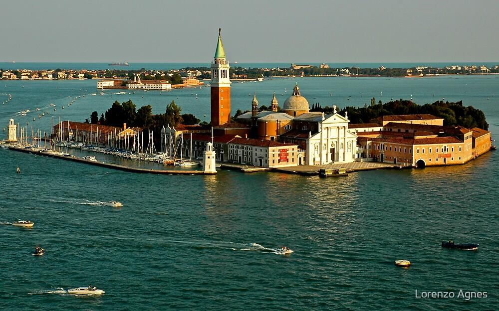 Venice Island Tower View by zodezine