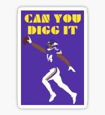 Can you Digg it Sticker